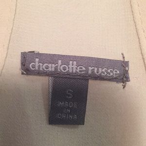 Charlotte Russe Tops - Charlotte Russe tank top